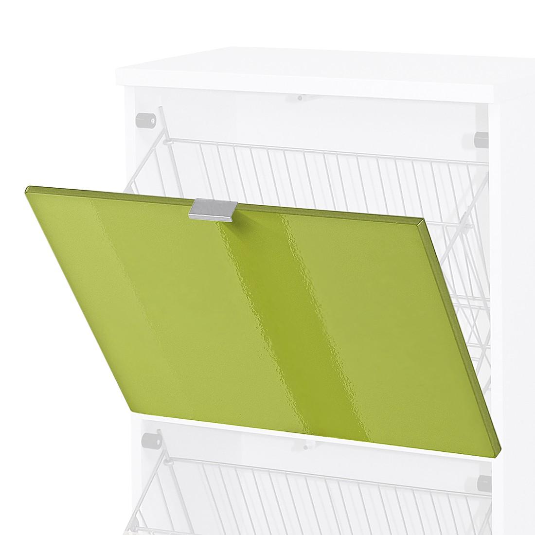 Home 24 - Porte abattante colorado - vert brillant, top square