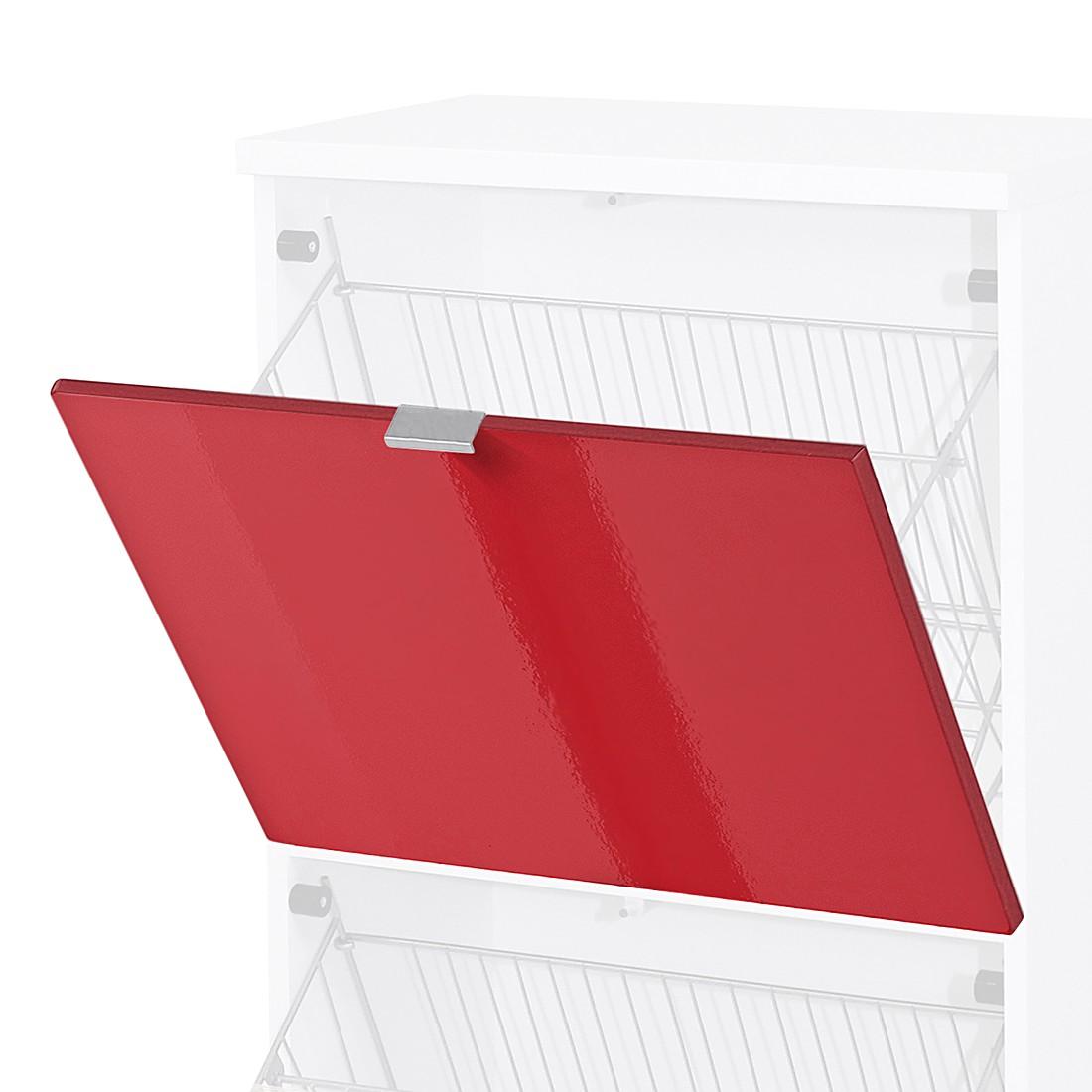 Home 24 - Porte abattante colorado - rouge brillant, top square