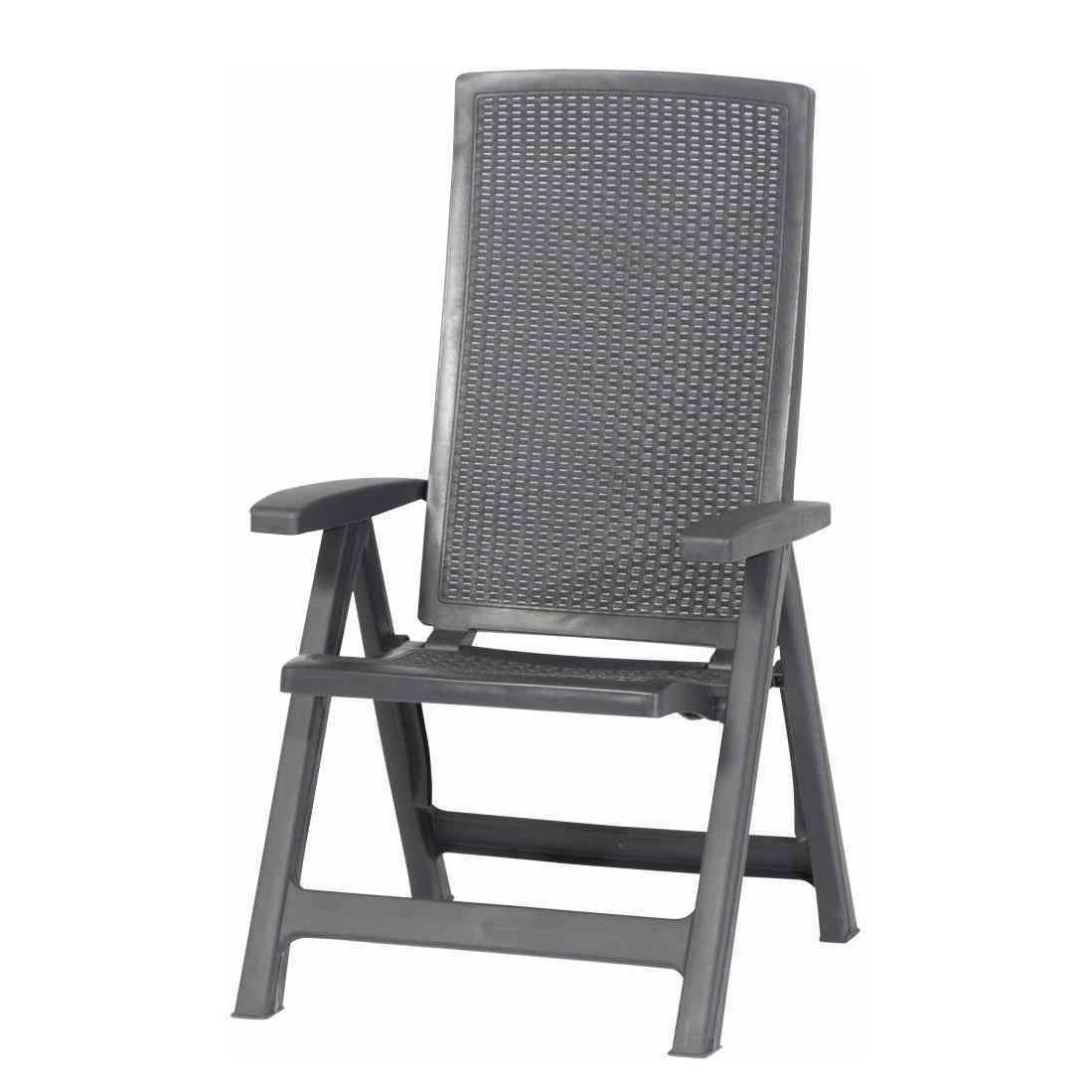 klappstuhl montreal kunststoff graphit jardin jetzt kaufen. Black Bedroom Furniture Sets. Home Design Ideas