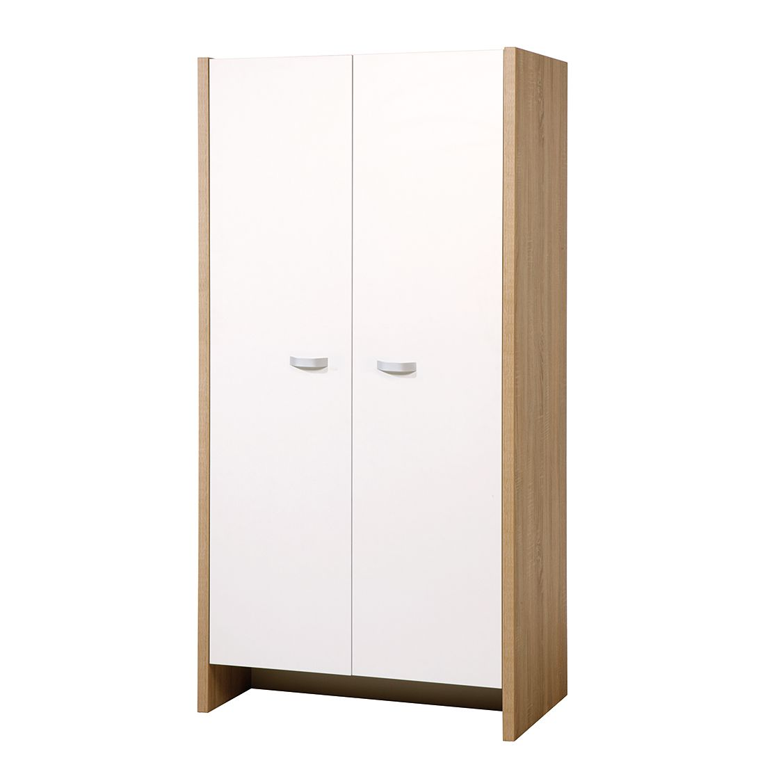 Armoire à vêtements Ancona II - Imitation chêne brut de sciage / Blanc, Roba