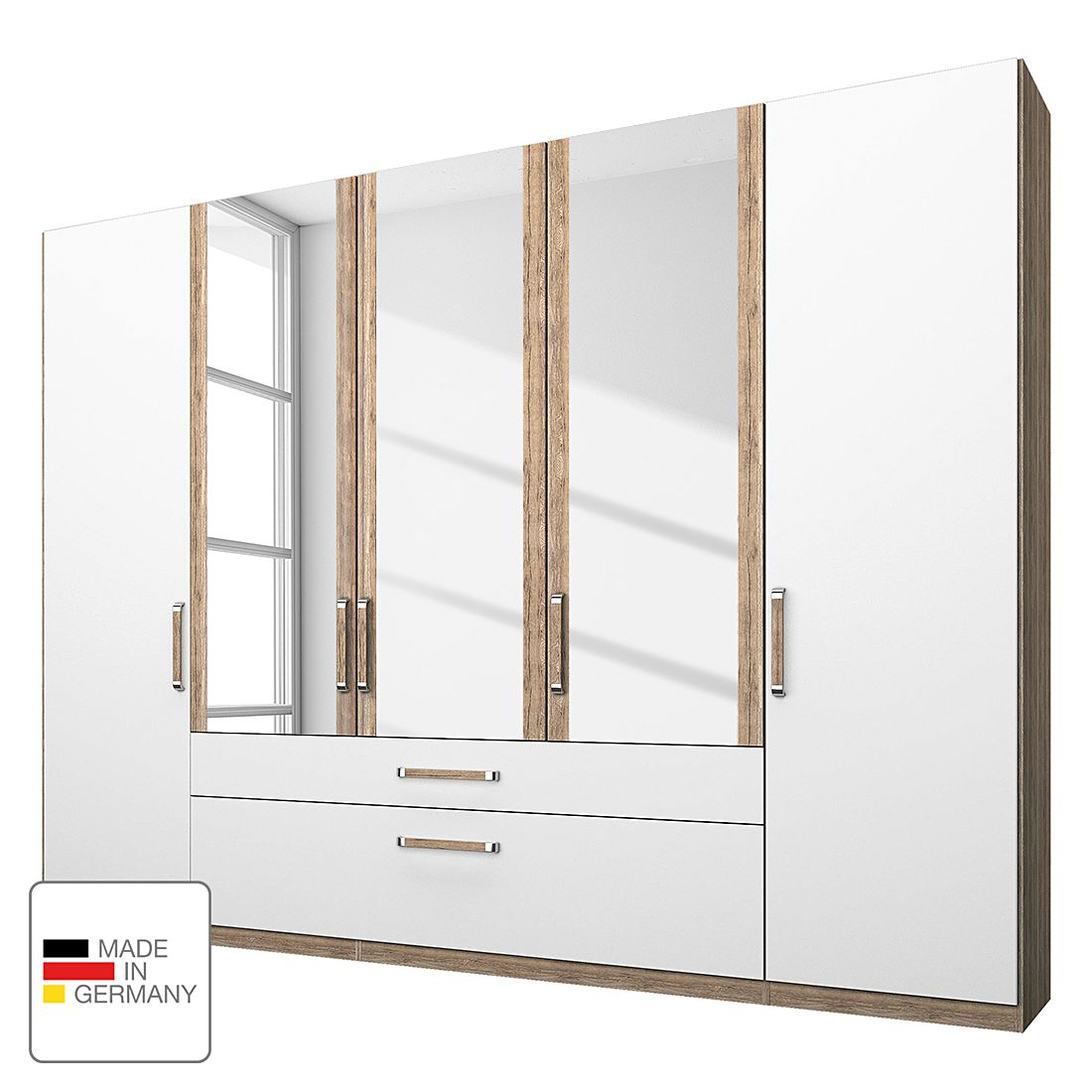 kleiderschrank 50 cm breit preisvergleiche erfahrungsberichte und kauf bei nextag. Black Bedroom Furniture Sets. Home Design Ideas