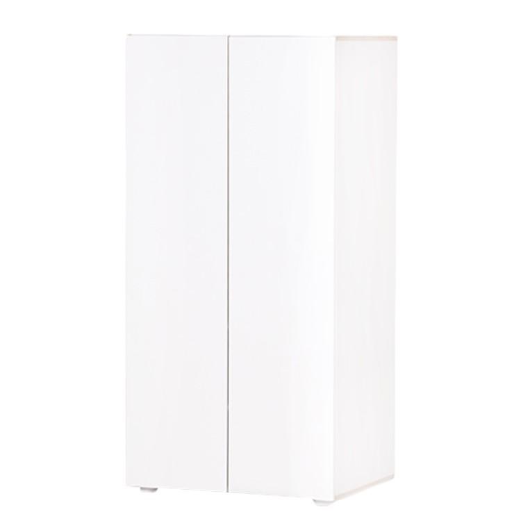 Kleiderschrank Mali II - Weiß / Buche, Manis-h