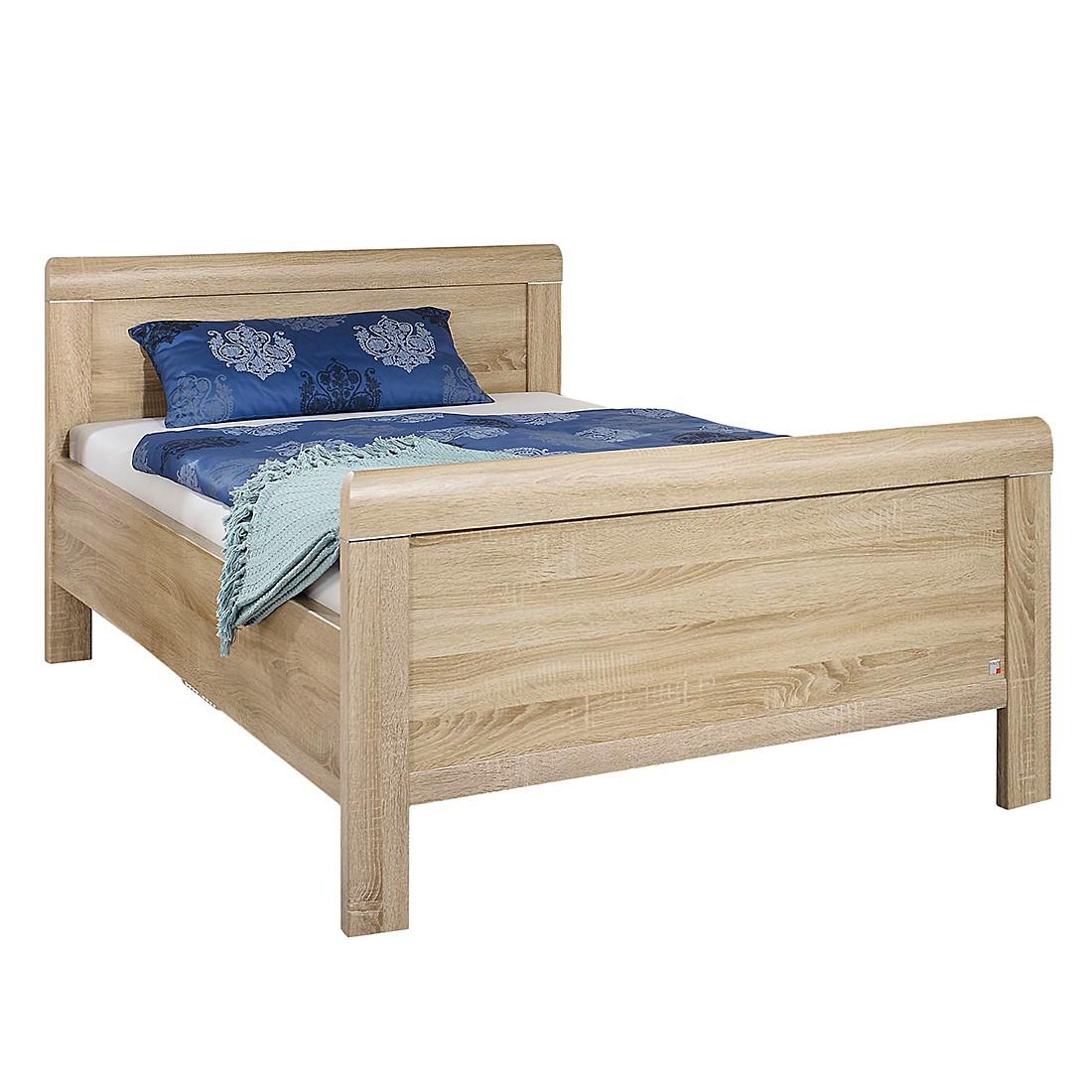 Comfortabel bed Evelyn - Sonoma eikenhouen look - 100 x 190cm, Rauch Dialog