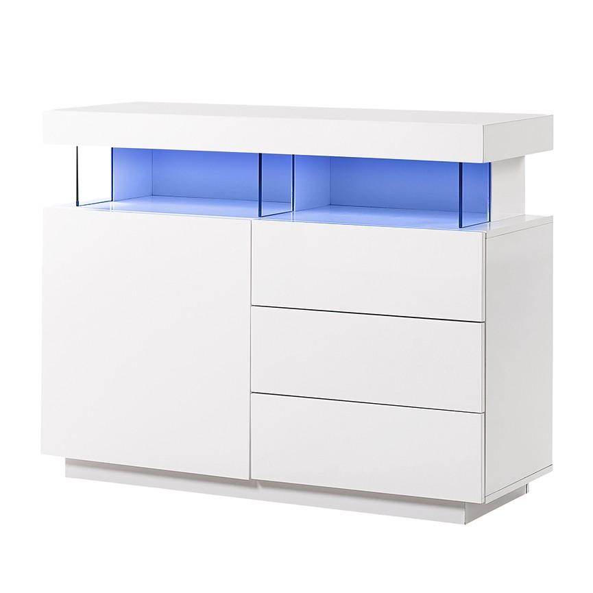 eek a kommode adriane ii inkl beleuchtung hochglanz wei roomscape g nstig kaufen. Black Bedroom Furniture Sets. Home Design Ideas