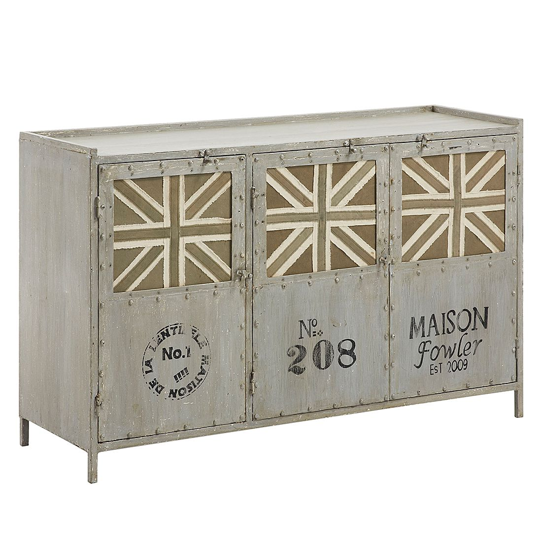 Commode Anstey - Gris, ars manufacti