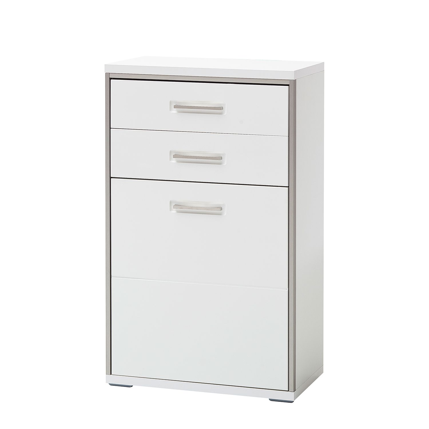 Commode Arco I - Blanc brillant, loftscape