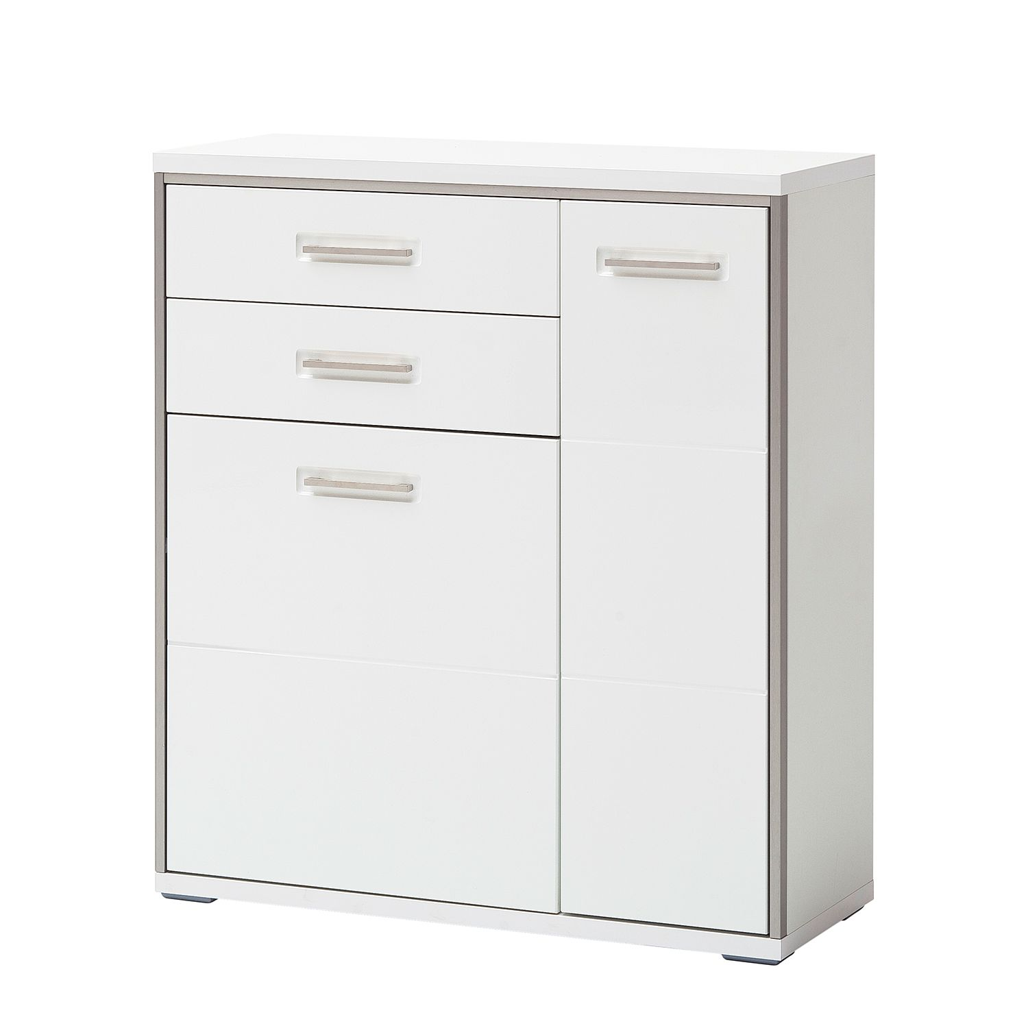 Commode Arco II - Blanc brillant, loftscape
