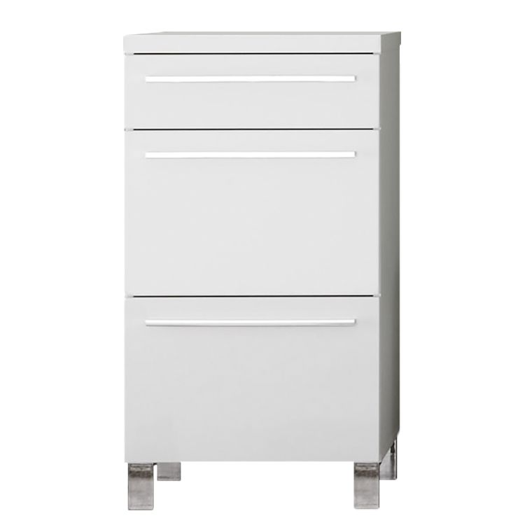 Commode Badger - Blanc brillant, Trendteam