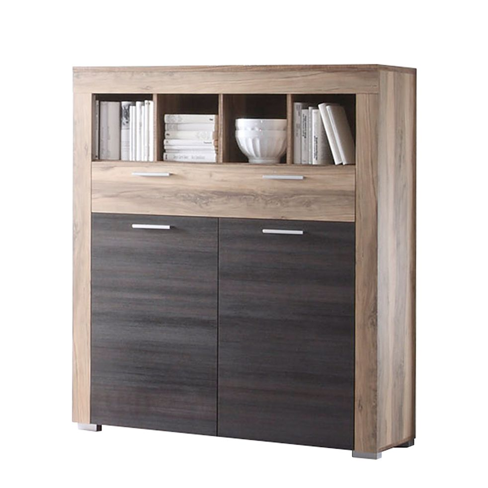 sideboard touchwood nussbaum satin preisvergleich die besten angebote online kaufen. Black Bedroom Furniture Sets. Home Design Ideas