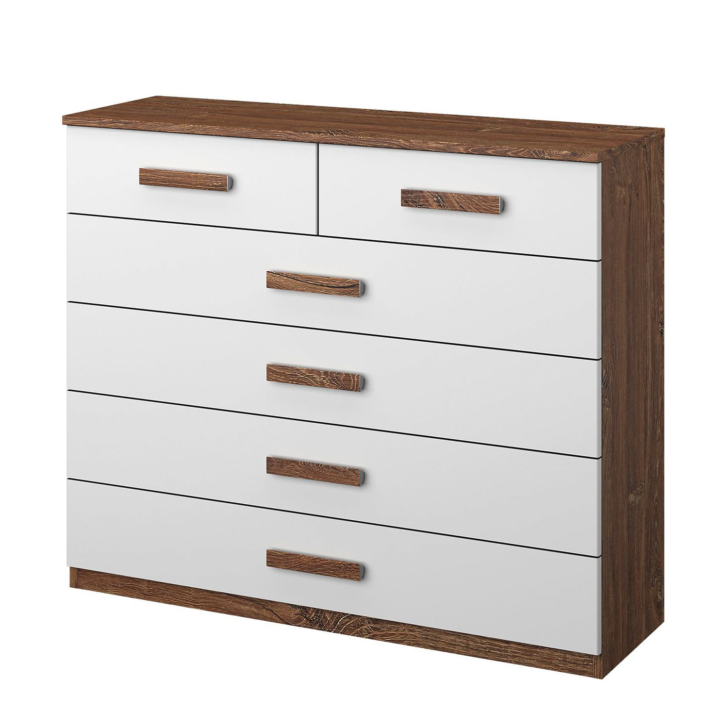 Commode Bernau - Blanc alpin, Rauch Packs