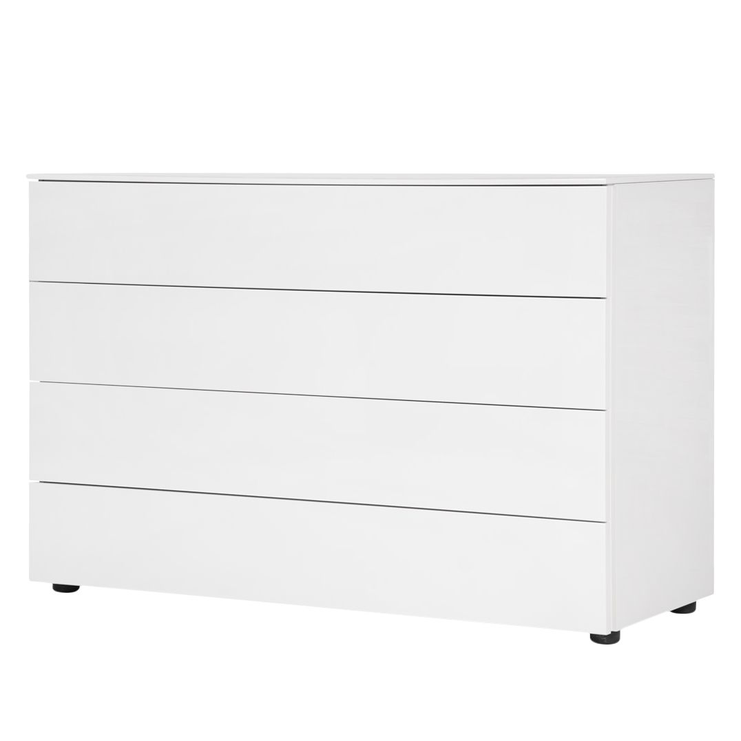 Commode Bianco II - Blanc brillant, Fredriks