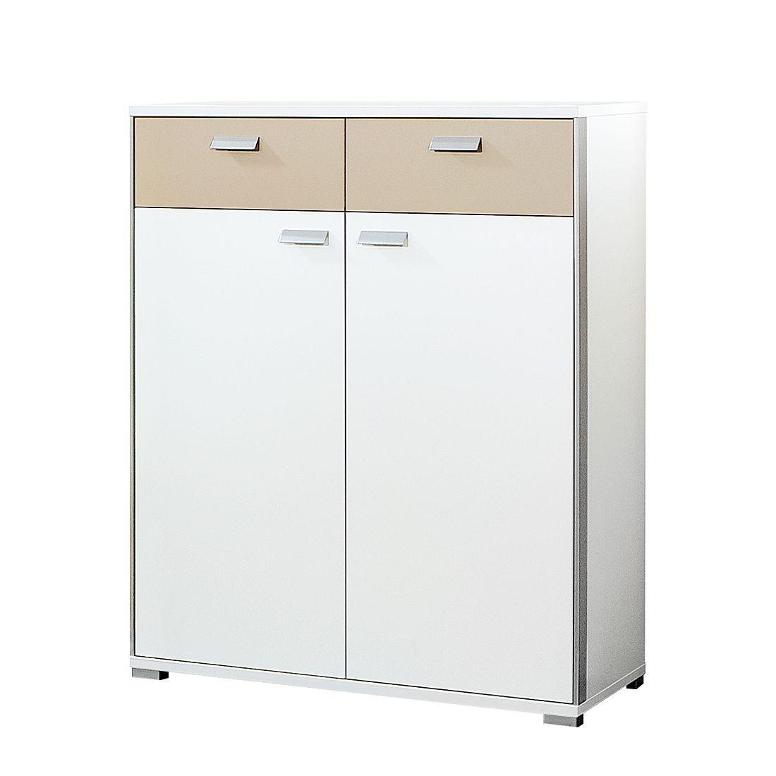 Home 24 - Commode bolton ii - blanc / sable, voss