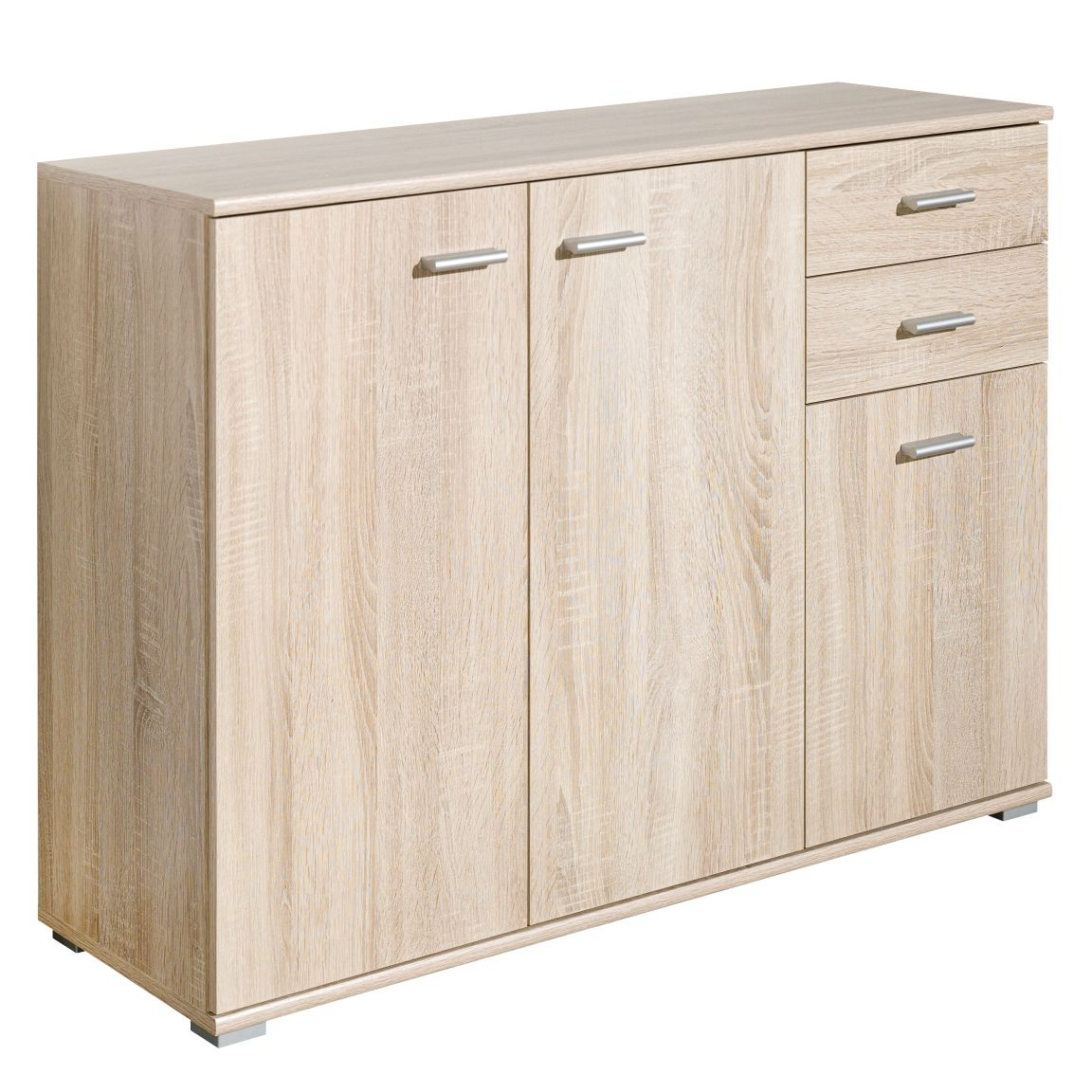 Commode Colton - Imitation chêne, Cs Schmal