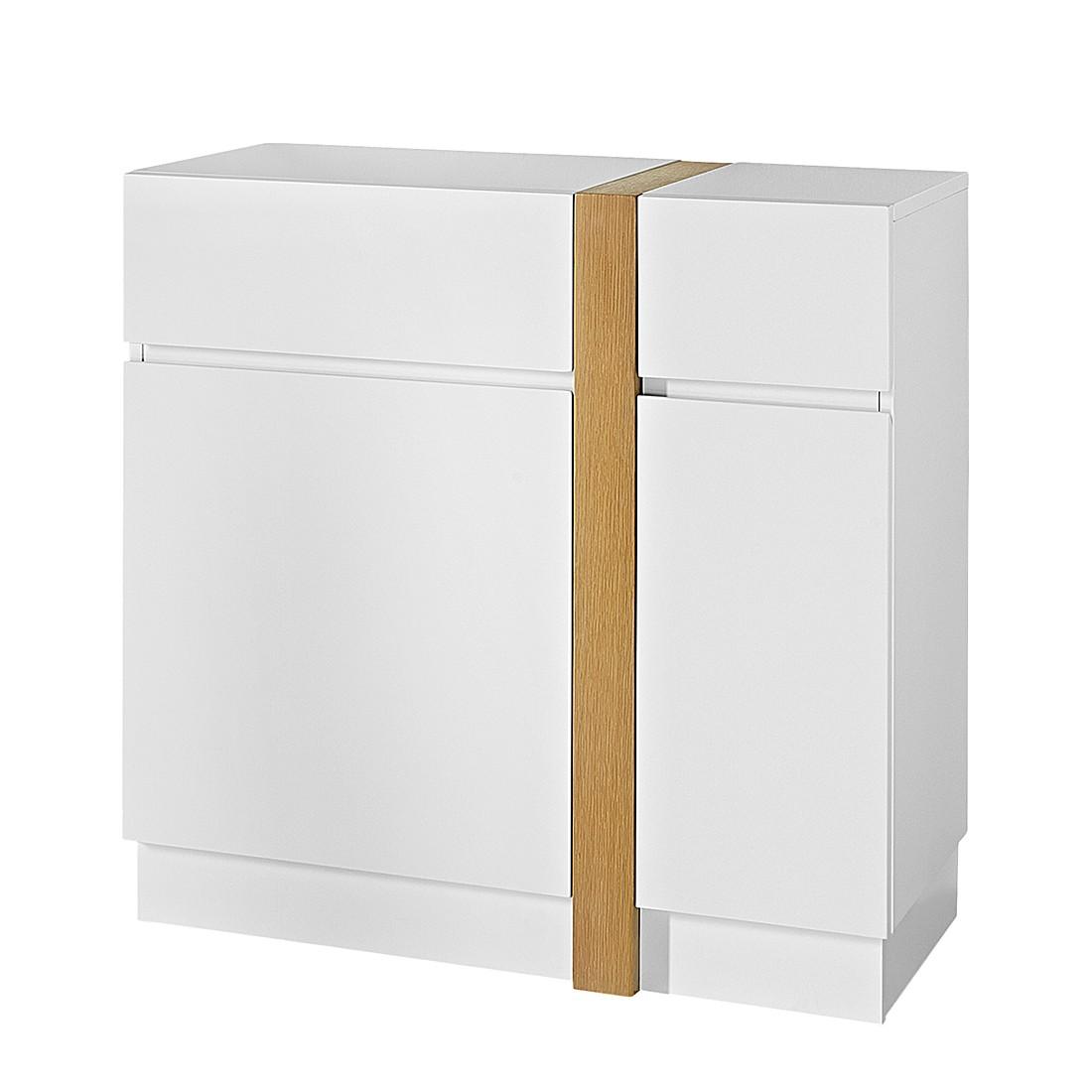 Commode Corredor - Blanc mat / Chêne, loftscape