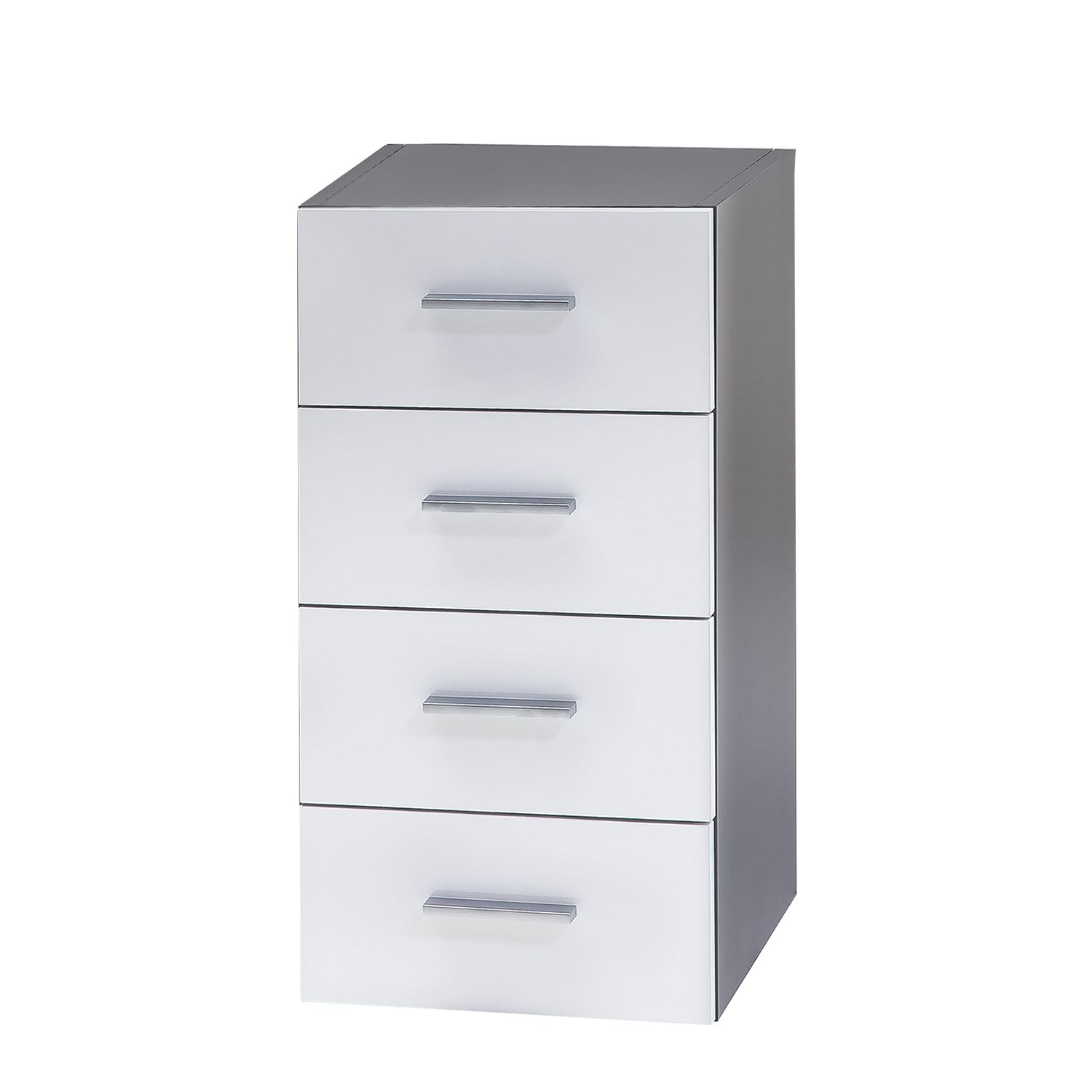 Commode Grena - Blanc brillant, Schildmeyer