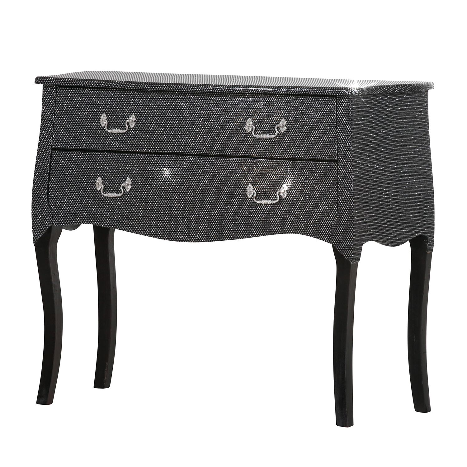 commode luccicare i noire ridgevalley par ridgevalley. Black Bedroom Furniture Sets. Home Design Ideas