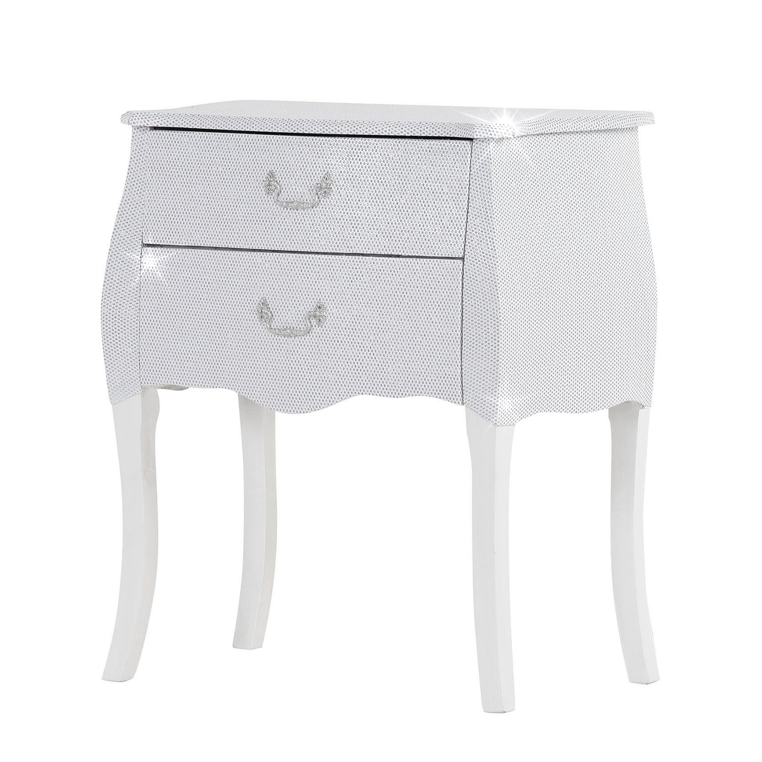 Commode Luccicare II - Blanc, Red Living