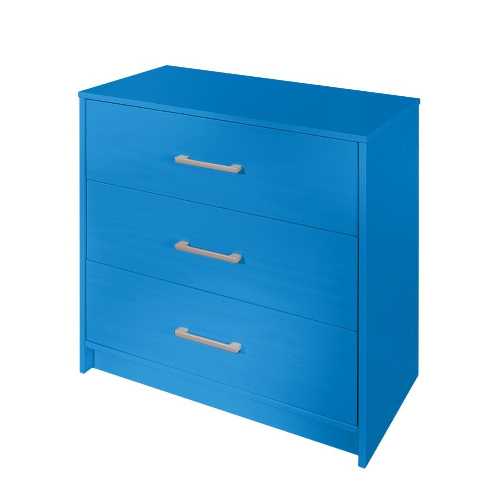 Cassettiera Lyla - Blu, mooved
