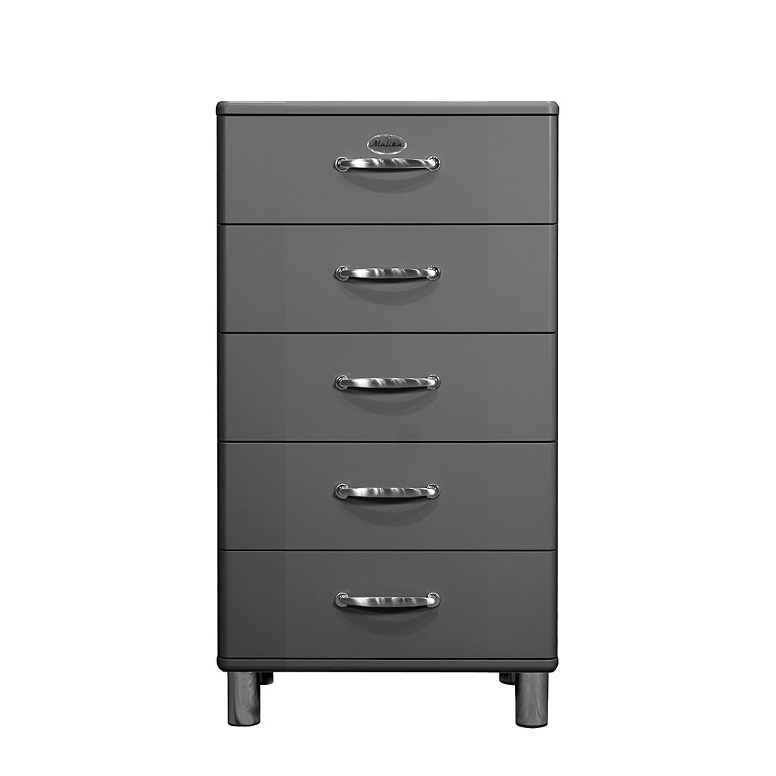 kommode malibu iii grau tenzo online kaufen. Black Bedroom Furniture Sets. Home Design Ideas