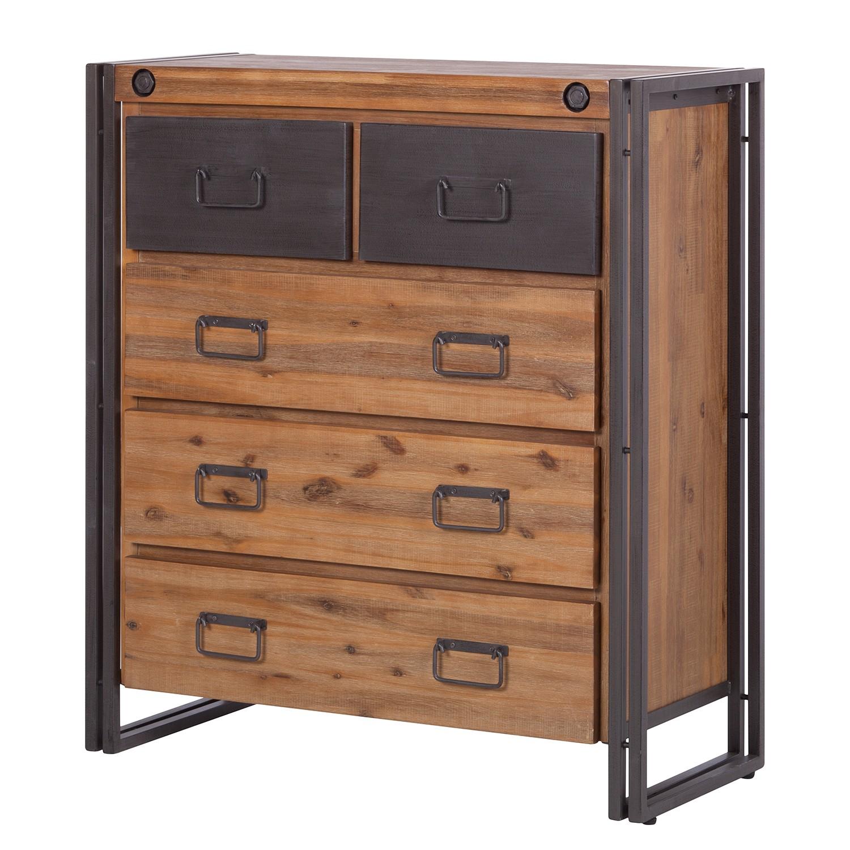 kommode akazie preisvergleich die besten angebote online kaufen. Black Bedroom Furniture Sets. Home Design Ideas