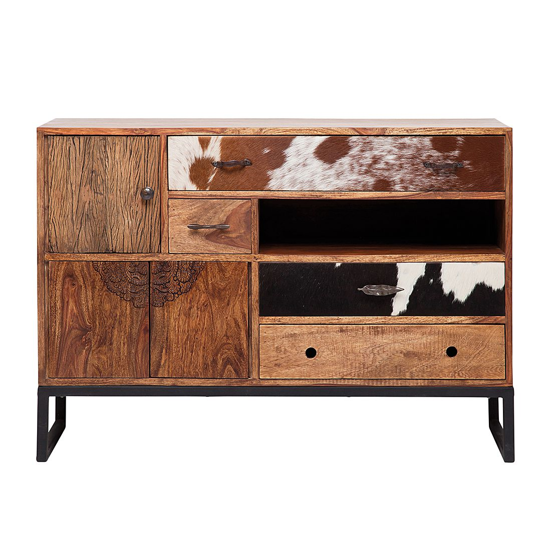 Commode Rodeo - Manguier massif, verni, Kare Design