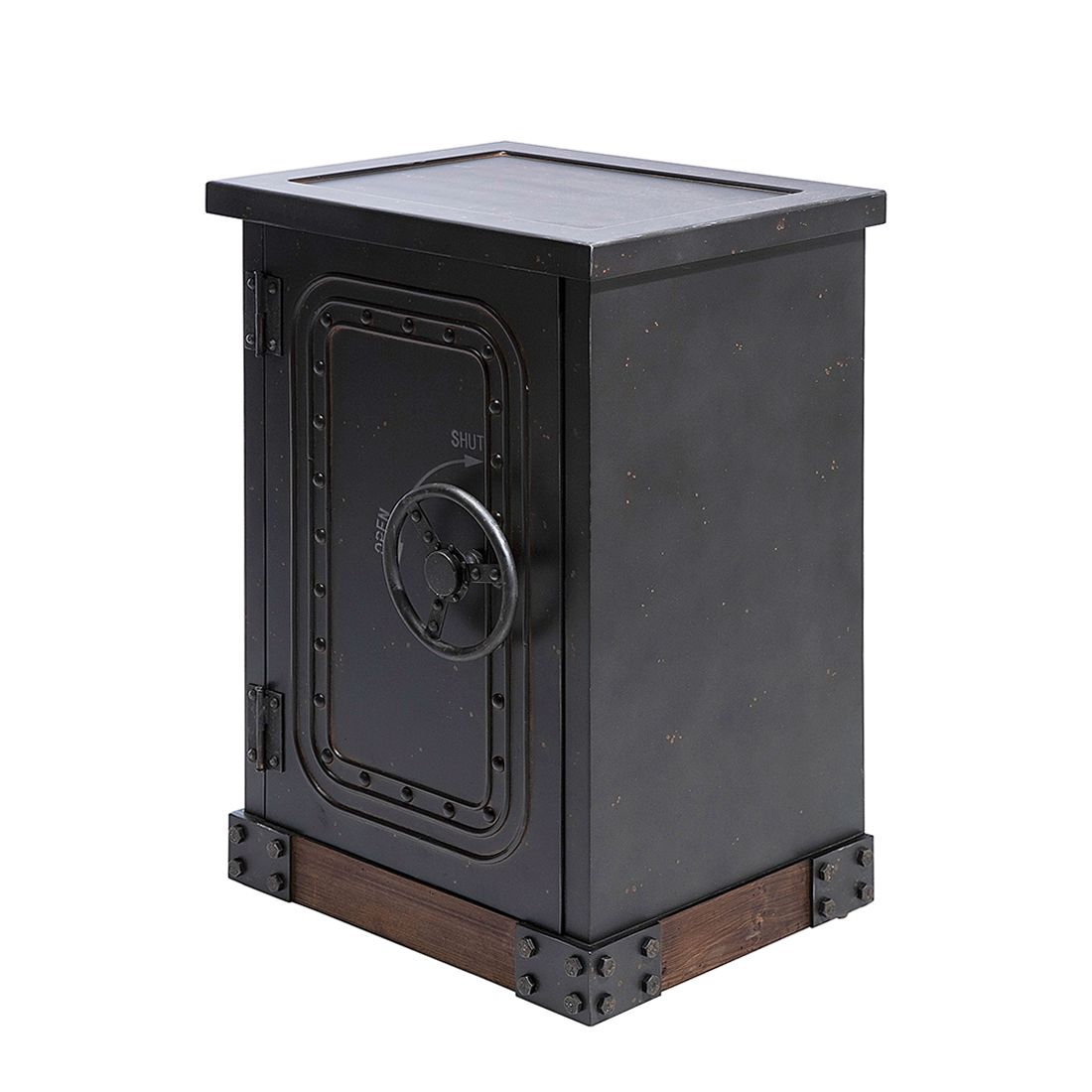Commode Safe - Noir, Kare Design