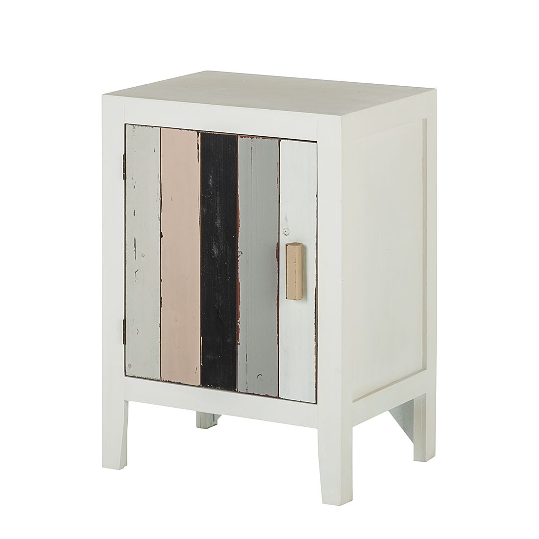 Armadietto Shabby's Chic - Con 1 anta dal look vintage, Jack and Alice