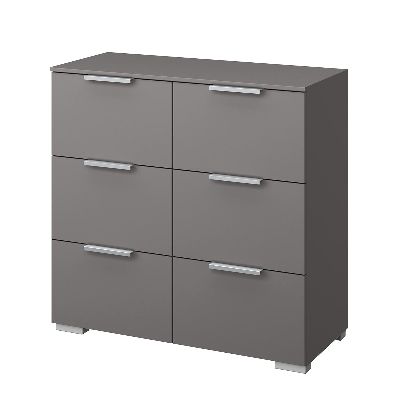 Commode SKØP IV - Graphite - Aluminium, SKØP