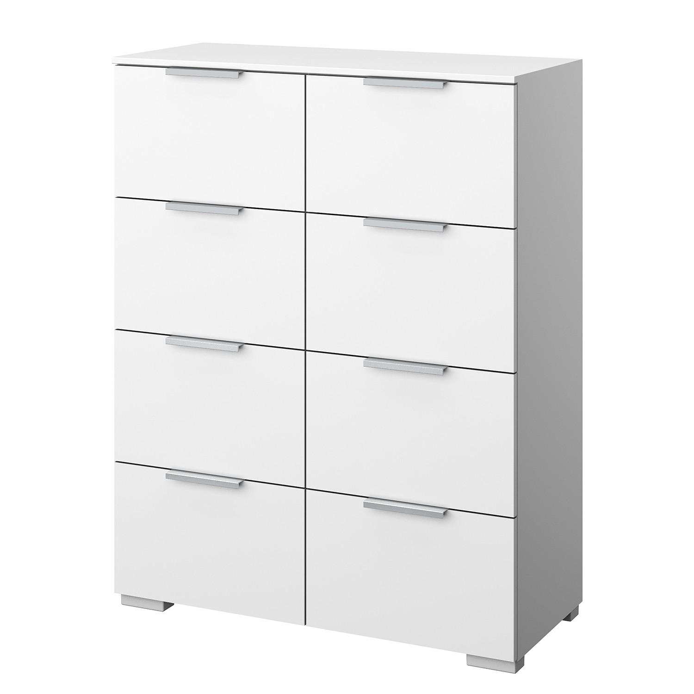 Commode SKØP IX - Blanc alpin - Aluminium, SKØP