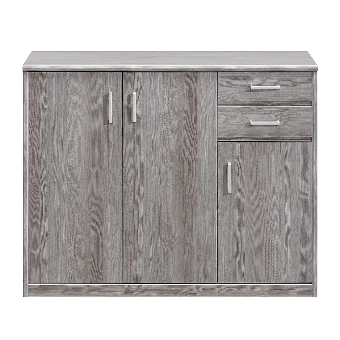 Home 24 - Commode à tiroirs soft plus iii - imitation chêne cendré, cs schmal
