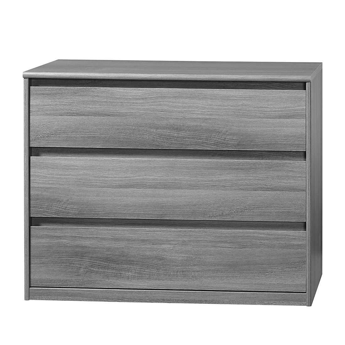 Cs Schmal Kommode Soft Smart I Silbereiche Dekor Sideboard Schrank