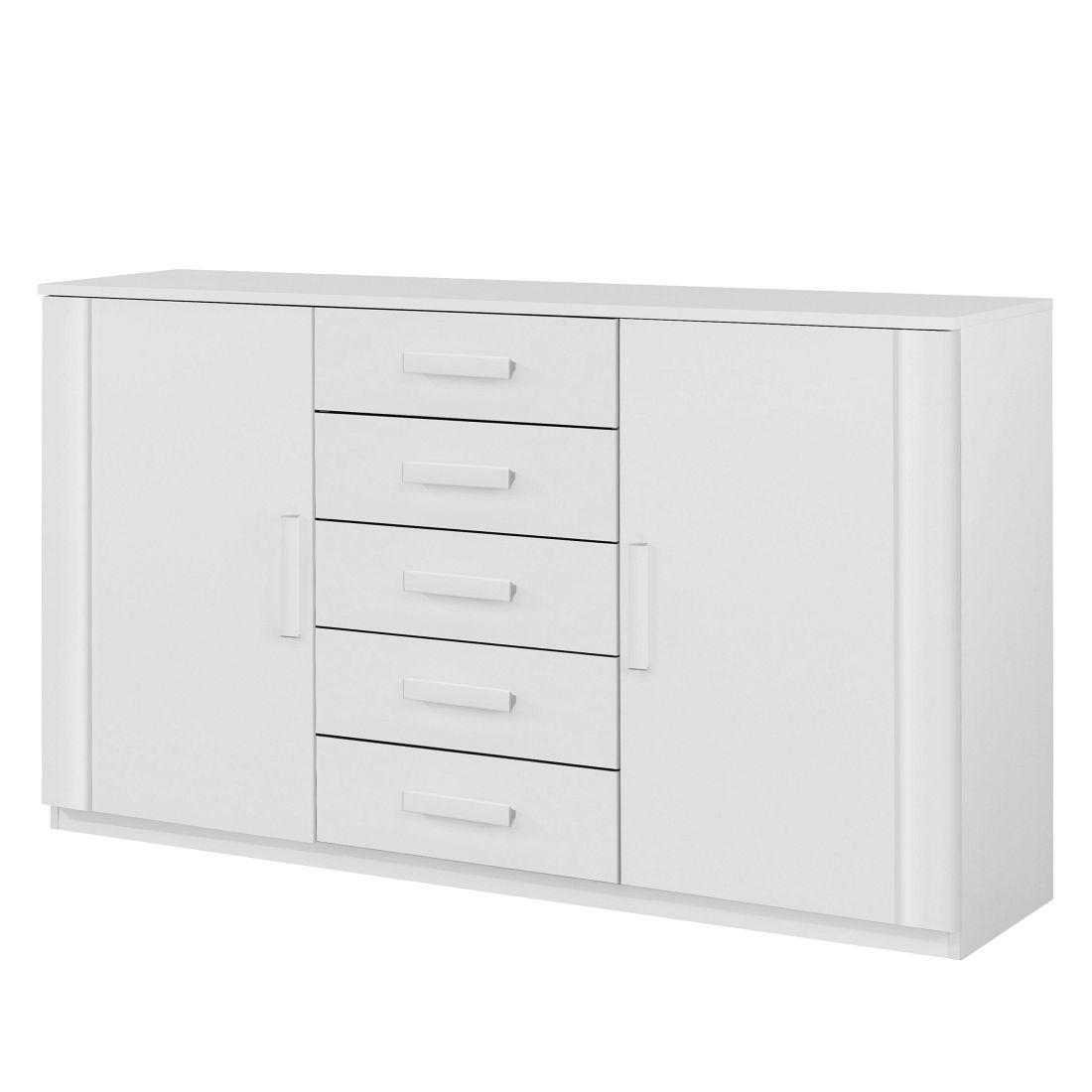 Commode Utrecht III - Blanc alpin, Rauch Packs