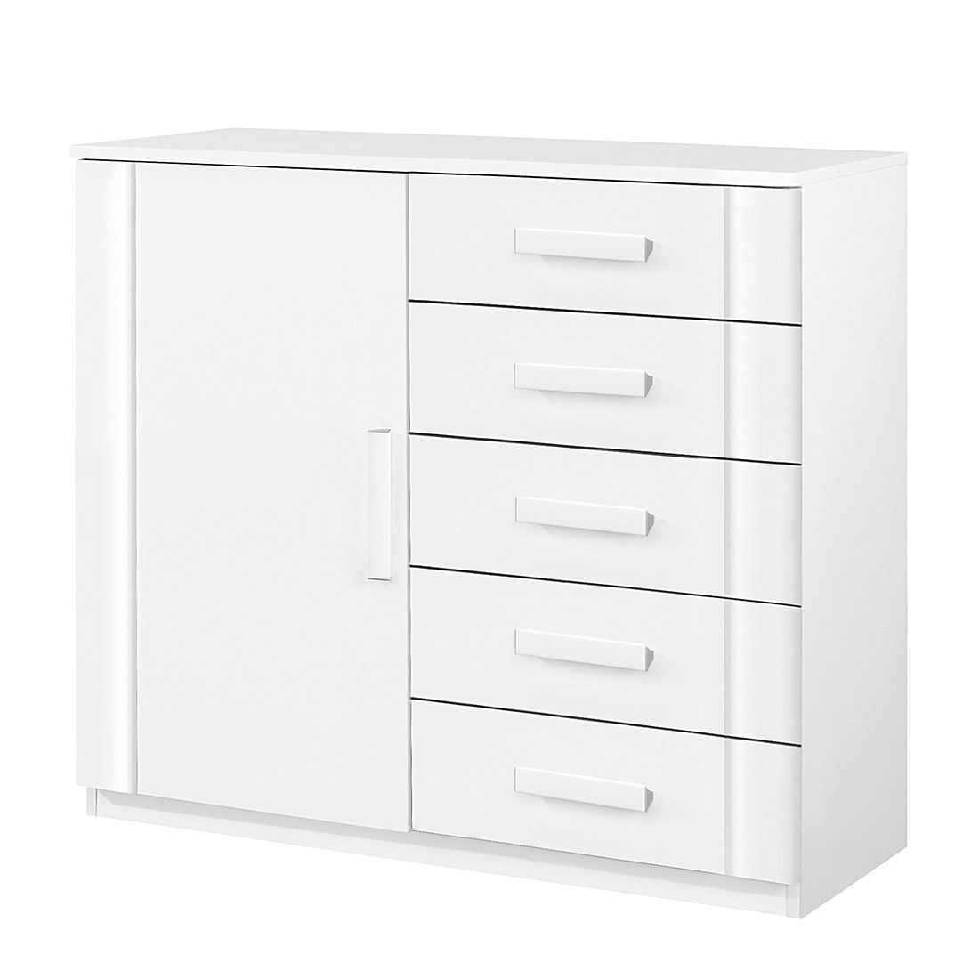 Commode Utrecht II - Blanc alpin, Rauch Packs