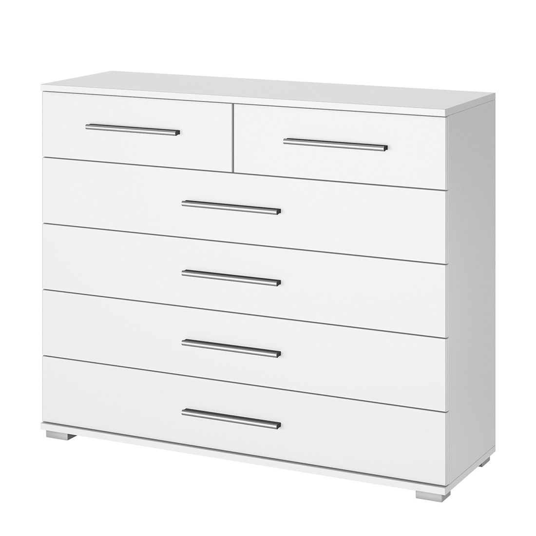 Commode Quadra IV - Blanc alpin, Rauch Packs