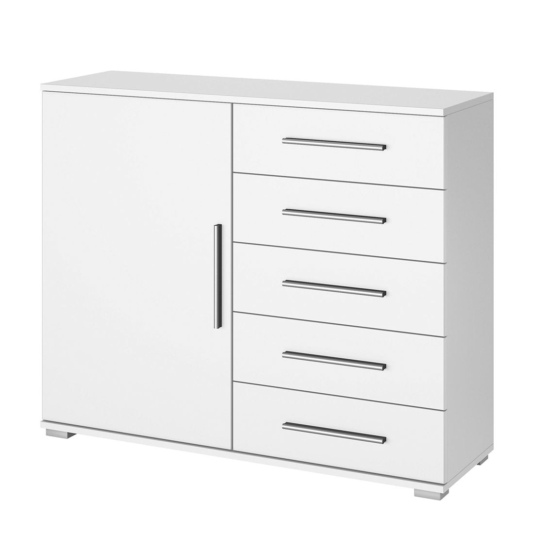 Commode Quadra V - Blanc alpin, Rauch Packs