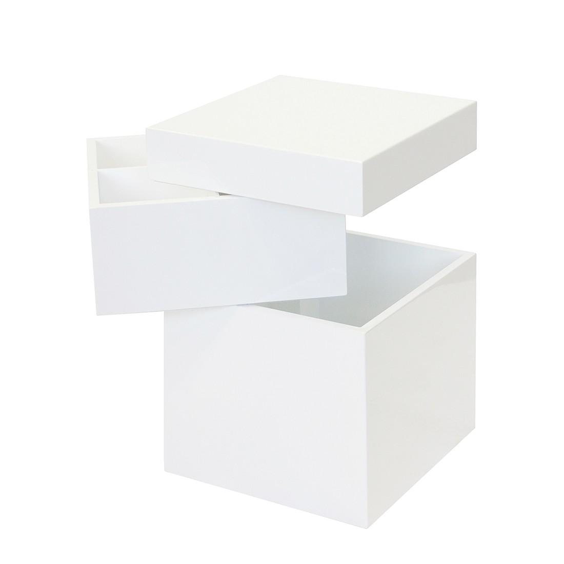 Torre-cassettiera Bloc I - Bianco, Tenzo