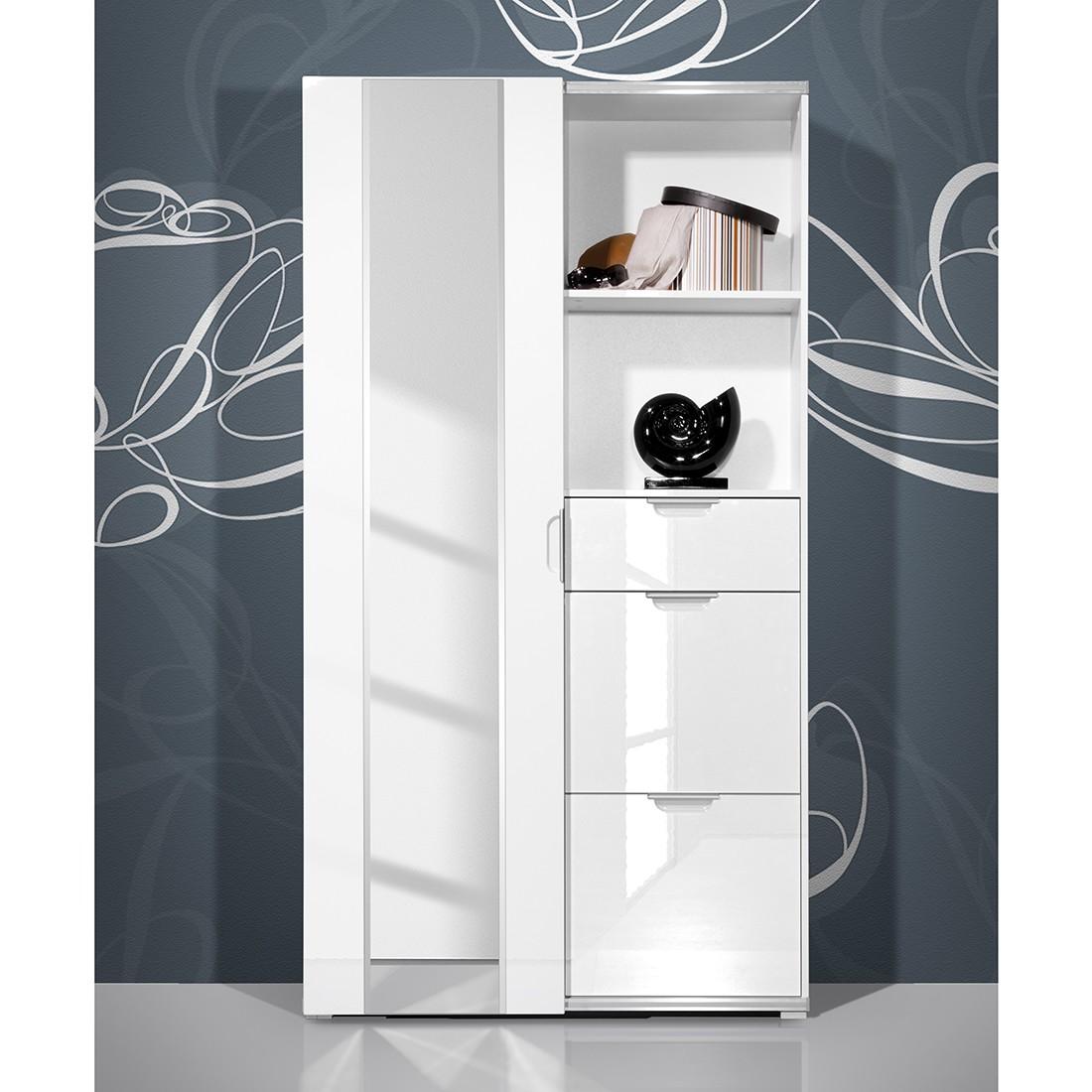 nachtschrank hochglanz wei preisvergleich die besten angebote online kaufen. Black Bedroom Furniture Sets. Home Design Ideas
