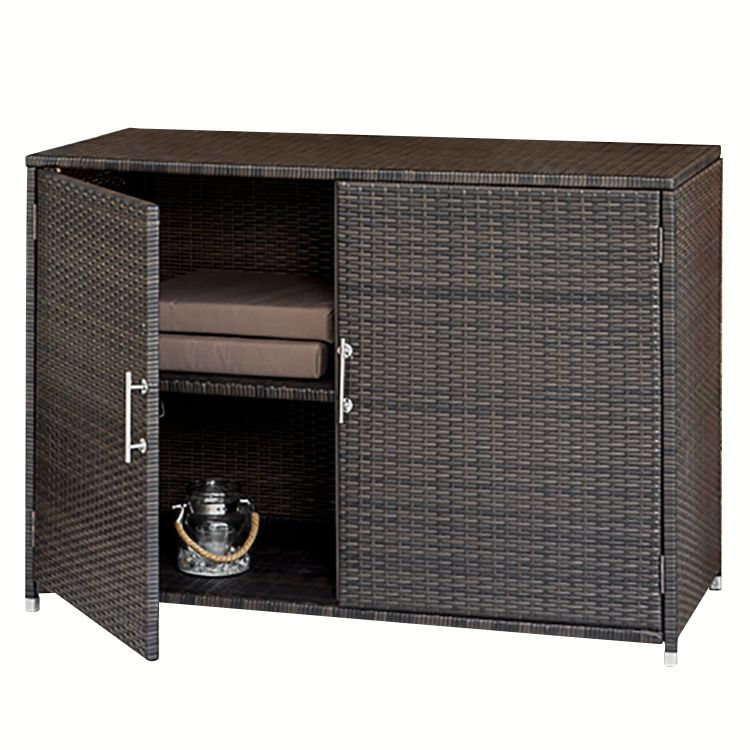 konsolenschrank kay polyrattan braun merxx g nstig kaufen. Black Bedroom Furniture Sets. Home Design Ideas