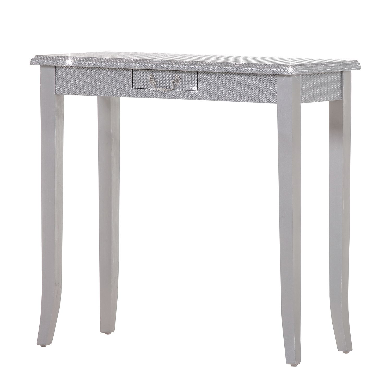 console luccicare ii argent ridgevalley par ridgevalley chez home24 fr. Black Bedroom Furniture Sets. Home Design Ideas