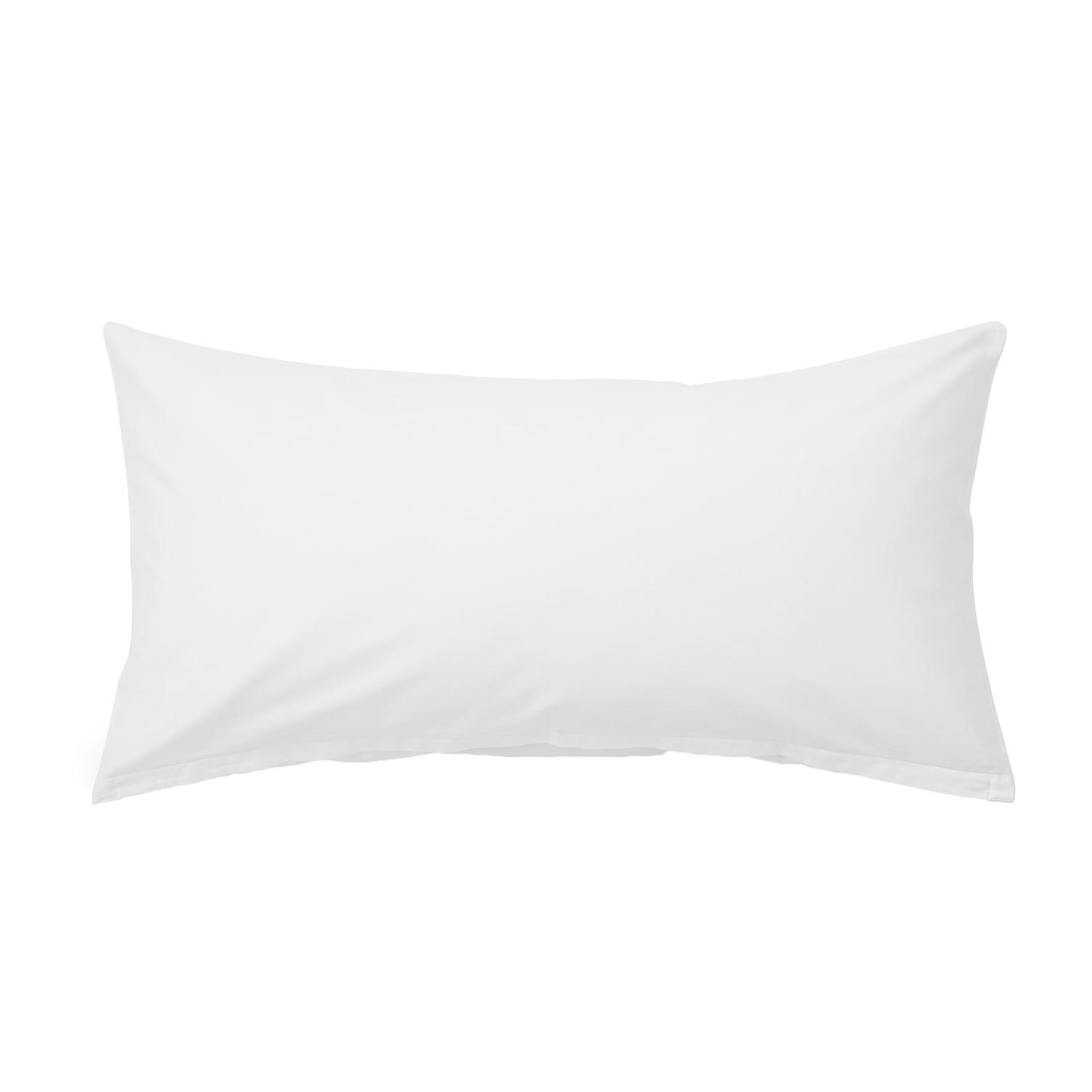 Kopfkissenbezug Nuvola - Baumwollstoff - Weiß - 40 x 80 cm
