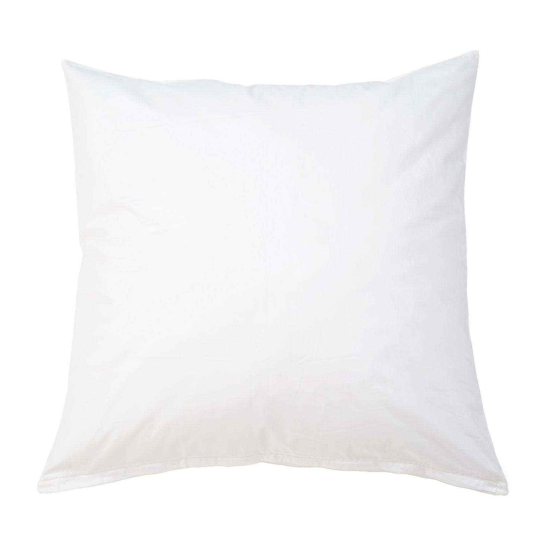 Kopfkissenbezug Nuvola - Baumwollstoff - Weiß - 80 x 80 cm