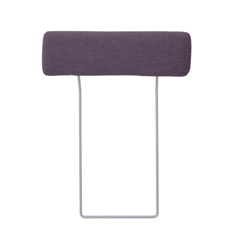 Kopfstütze Omnia - Webstoff - 65 x 17 cm - Stoff Anda II Violett
