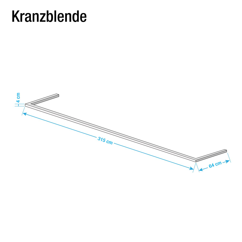 Kranzblende Skøp - Eiche Sonoma Dekor - 315 cm (3-türig)