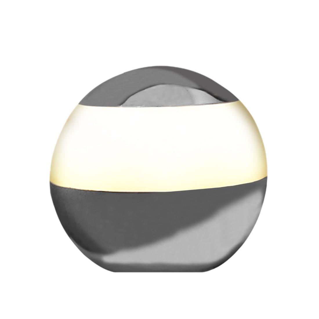 Home 24 - Eek a+, lampe boule globe - light chrome, nicol wohnausstattungen
