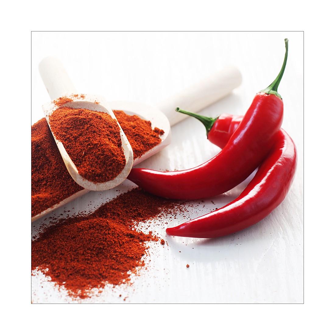 Home 24 - Impression sur toile, jalapeño pepper ii - taille : 50 x 50 cm, pro art