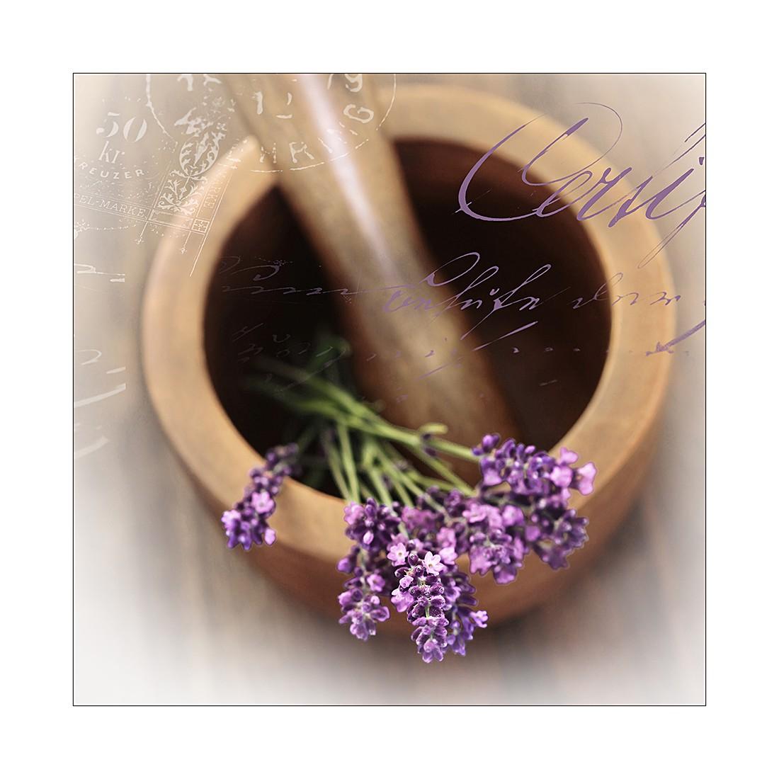 Kunstdruk lovely lavender I - 30x30cm, Pro Art