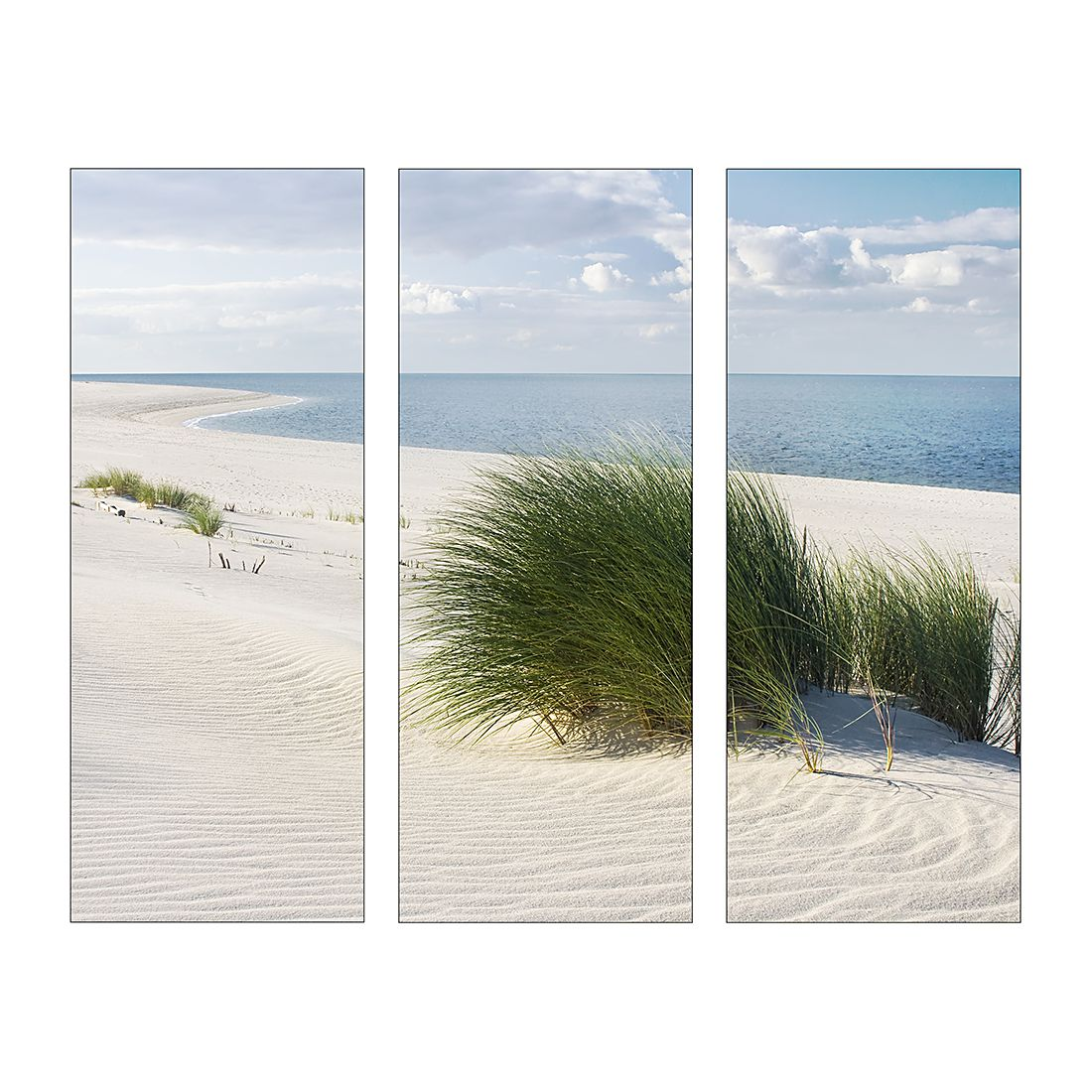 Home 24 - Impression d art seaside idyll (3 éléments), pro art