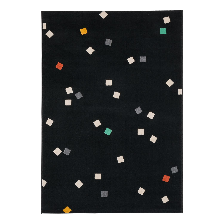 Laagpolig tapijt Canvas - textielmix - grijs, Fredriks