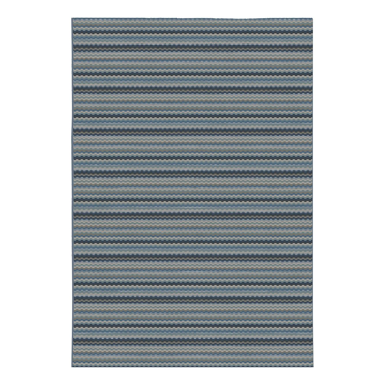 Kurzflorteppich Malchin - Kunstfaser - Blaugrau - 140 x 200 cm, F bei Home24 - Sonderangebote