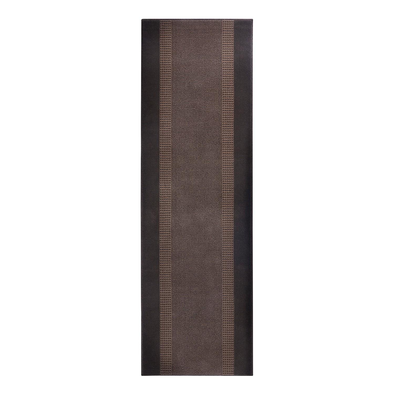 Loper Band - kunstvezel - Bruin - 80x250cm, Hanse Home Collection